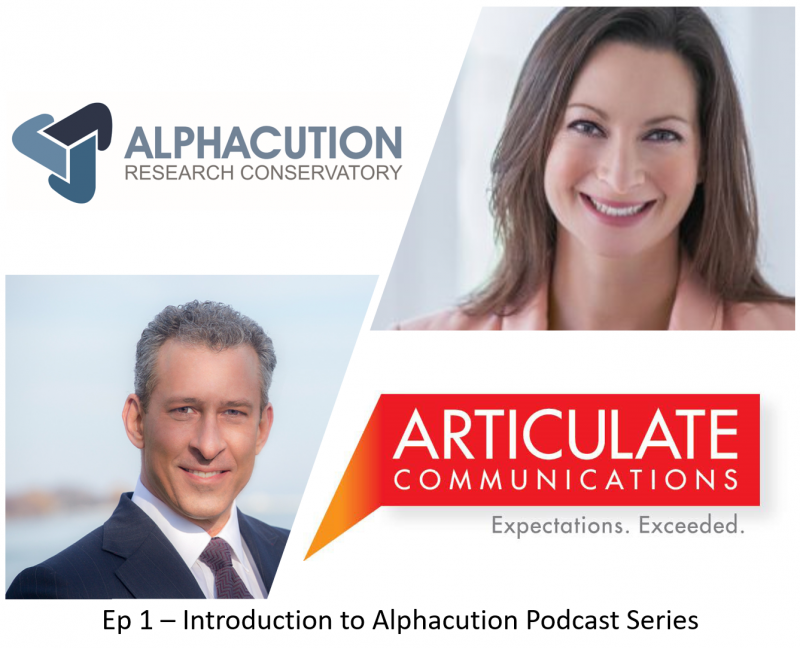 Introducing the Alphacution Podcast Series – Articulate Communications Interviews Paul Rowady