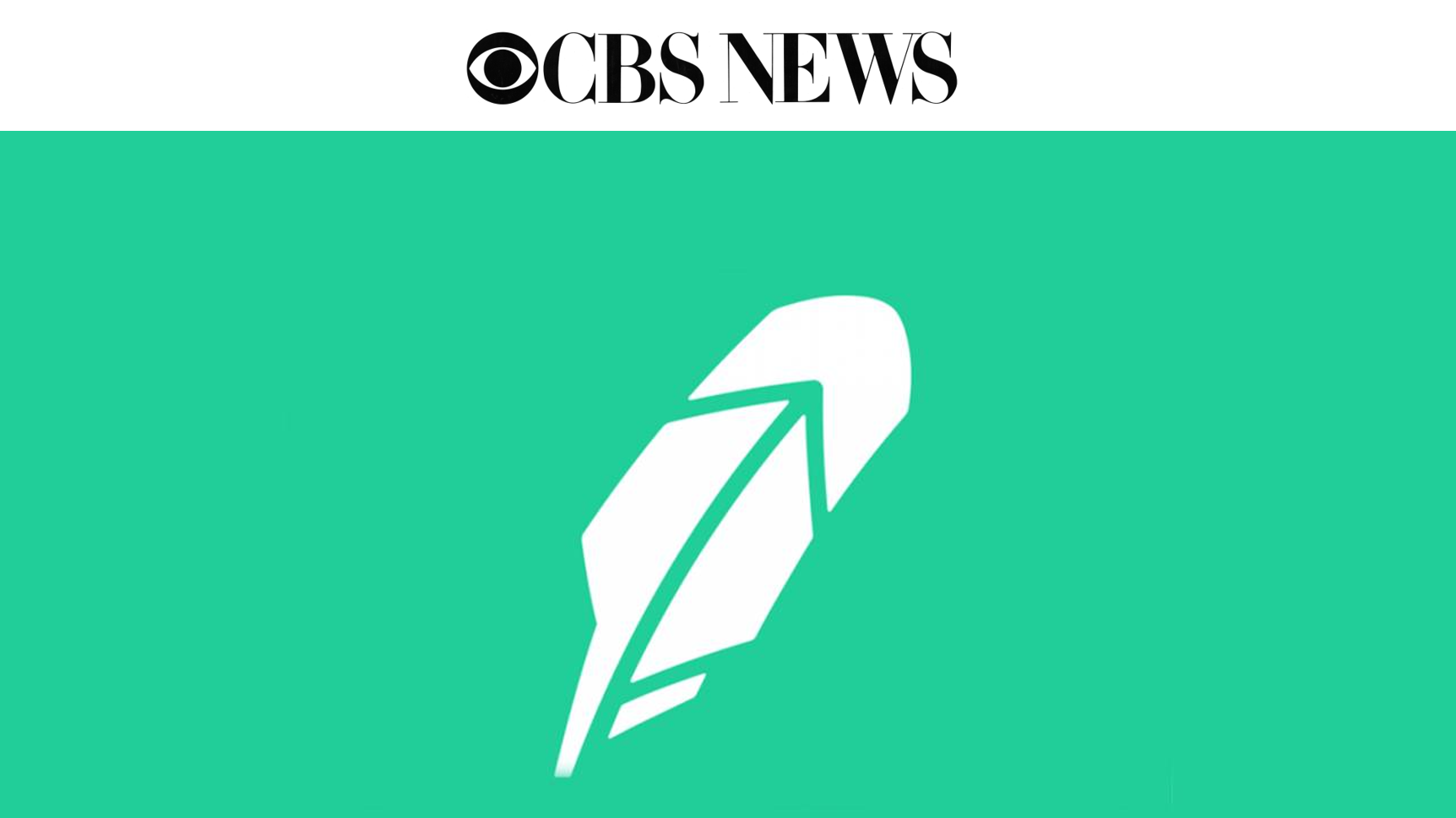 Alphacution Press: CBS News on Robinhood's Q1 2021 Order Routing Revenue